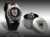 Clubwatch with silver plate